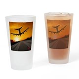 Airplane Pint Glasses