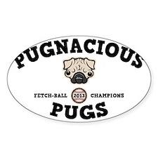 pugnacious-CAP Decal