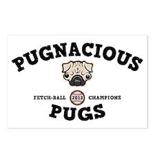 pugnacious-CAP Postcards (Package of 8)