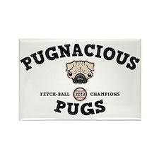 pugnacious-CAP Rectangle Magnet