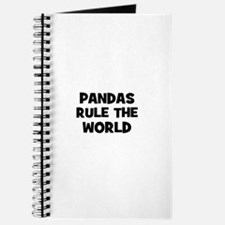 pandas rule the world Journal