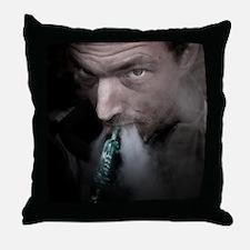 Shisha Action Throw Pillow