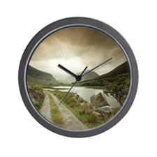 Road into the Black Valley Wall Clock