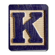Letter K Mousepad