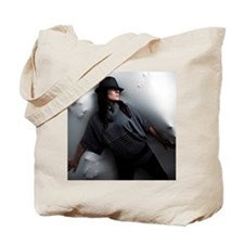 Holding Back Tote Bag
