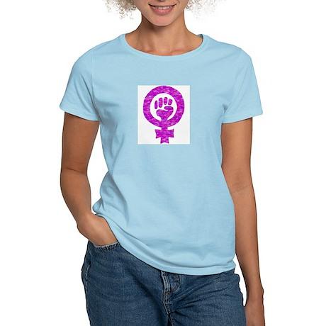 Women's Pink T-Shirt - Feminism