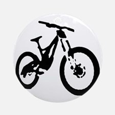 Mountain Bike Round Ornament