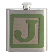 Letter J Flask