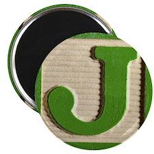 Letter J Magnet