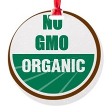 No Gmo Organic Ornament