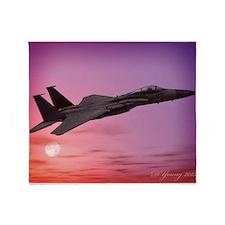 F-15 Eagle Throw Blanket