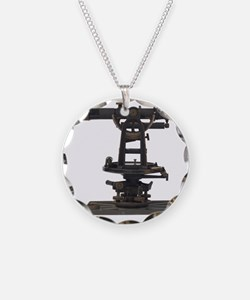 old-fashioned theodolite Necklace