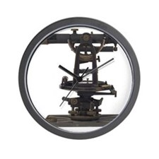 old-fashioned theodolite Wall Clock