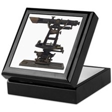 old-fashioned theodolite Keepsake Box