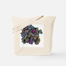 Ribosomal subunit, molecular model Tote Bag