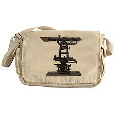 old-fashioned theodolite Messenger Bag