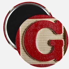 Letter G Magnet