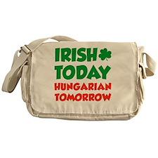 Irish Today Hungarian Tomorrow Messenger Bag