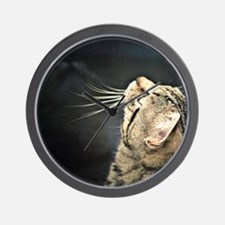 Unique Cat face Wall Clock