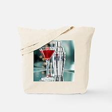 Red Martini Tote Bag