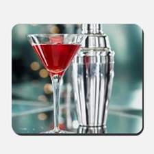 Red Martini Mousepad