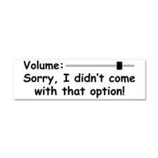Volume Control Car Magnet 10 x 3