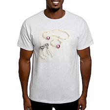 Plastic jewellery T-Shirt