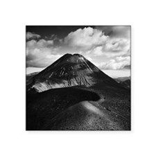"Mt Ngauruhoe Square Sticker 3"" x 3"""