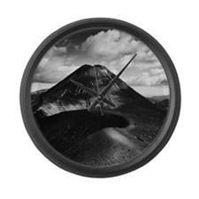 Mt Ngauruhoe Large Wall Clock