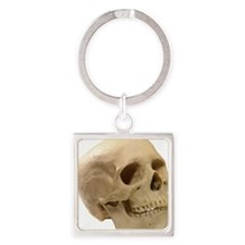 Model of a skull Square Keychain