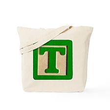 Letter T Tote Bag