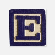 """Letter E Square Sticker 3"""" x 3"""""""