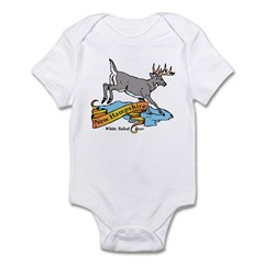 New Hampshire Deer Infant Bodysuit