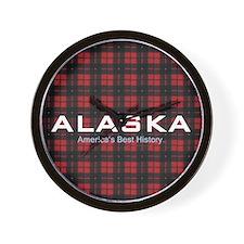 Alaska Americasbesthistory.com Wall Clock