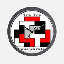 TEN-YEN gamepuzzles Wall Clock