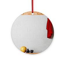 Soccer Gear Round Ornament