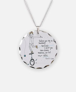 Keep Learning Necklace