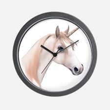 An illustration of a Unicorn Wall Clock