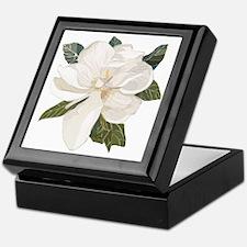 Unique Magnolia flowers Keepsake Box