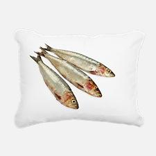 Sardines (Pilchards). Rectangular Canvas Pillow