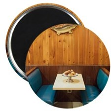 Booth in Diner Magnet