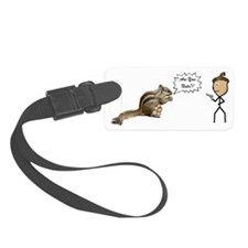 Are You Nuts Squirrel Luggage Tag