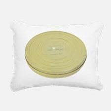 Metal Film Reel Canister Rectangular Canvas Pillow