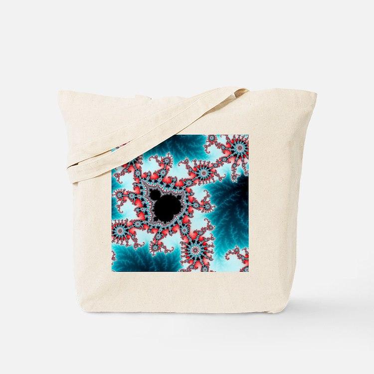 Mandelbrot fractal. Computer-generated im Tote Bag