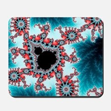 Mandelbrot fractal. Computer-generated i Mousepad
