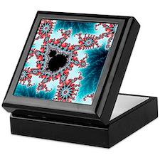 Mandelbrot fractal. Computer-generate Keepsake Box