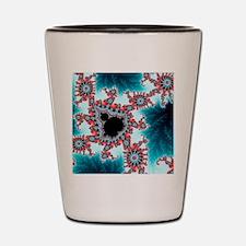 Mandelbrot fractal. Computer-generated  Shot Glass