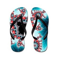 Mandelbrot fractal. Computer-generated  Flip Flops