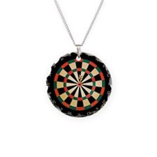 Dart in Bull's Eye on Dart B Necklace