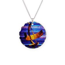 Metal Sundial Necklace
